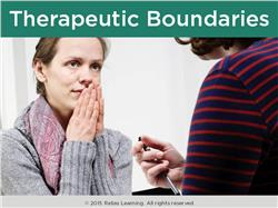 Therapeutic Boundaries